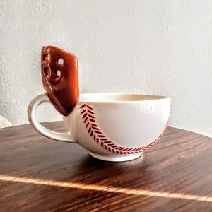 Baseball Mug with a glove.